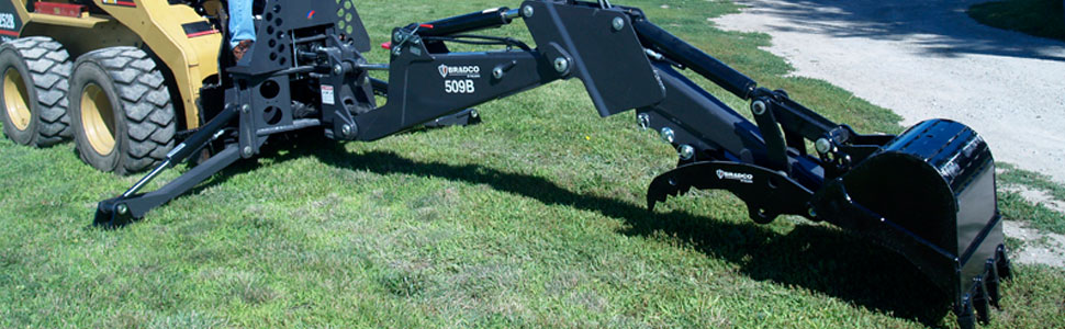 Bradco Backhoe Attachments