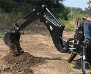 Skid Steer Backhoe Image 1