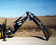Skid Steer Backhoe Image 3