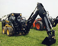 Skid Steer Backhoe Image 4