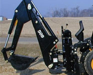 Skid Steer Backhoe Image 5