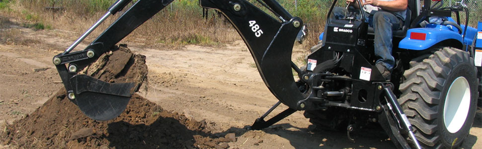 Skid Steer Backhoe Attachments